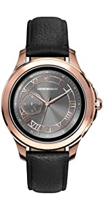 Amazon.com: Emporio Armani Mens Smartwatch 2 Touchscreen ...