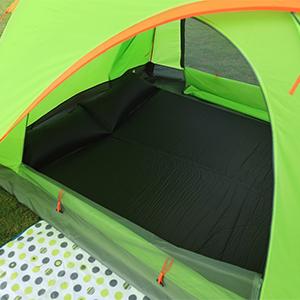 self-inflating sleeping pad