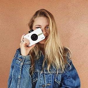 instant digital camera teen girl