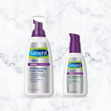 Create a routine with Cetaphil PRO Dermacontrol Oil Removing Foam Wash and Oil Absorbing Moisturizer