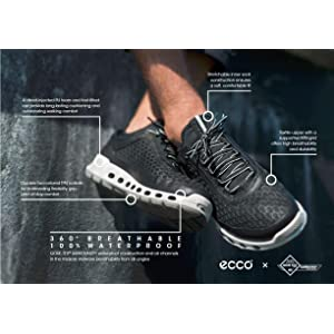 ECCO Women's Cool 2.0 Textile Gore Tex Fashion Sneaker