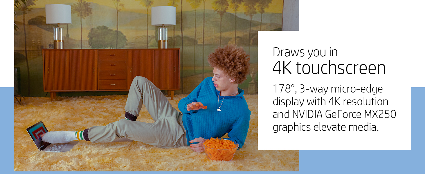 4K micro edge display screen wide viewing angles 178 degree nvidia geforce mx250 pascal architecture