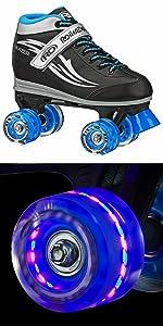 Blazer light up wheel skates