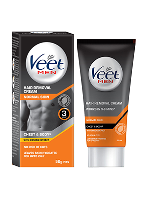 Buy Veet Hair Removal Cream For Men Normal Skin 100g Online At