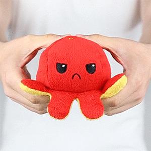 octopus reversible cute
