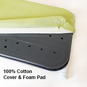 Homz cotton cover and pad iron ironing board simple fabric linen