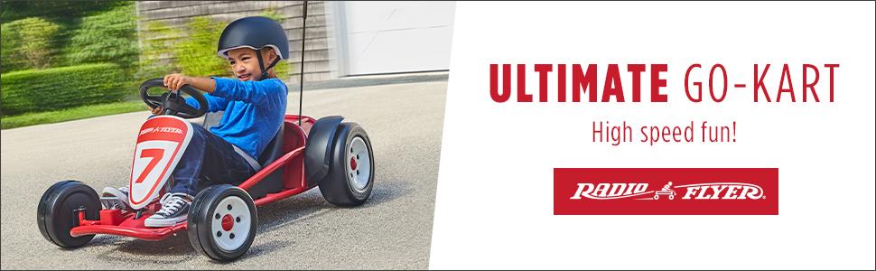 radio flyer go kart for kids power wheels