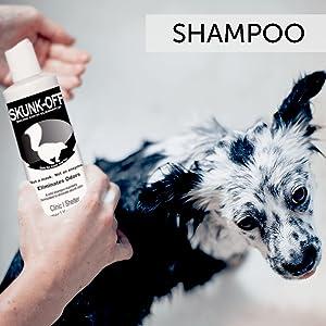 Odorcide Skunk Off Shampoo and Liquid Skunk Odor Eliminator