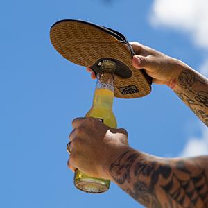 Fanning sandal, Bottle Opener