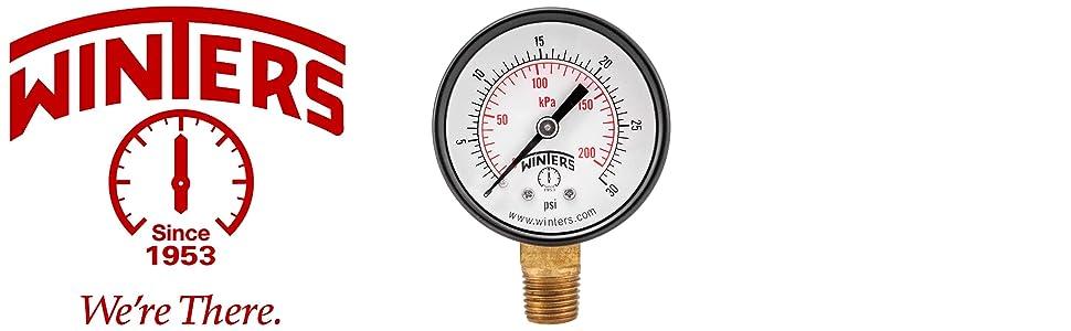 Pressure Gauges, Economy Pressure Gauges, Low-Cost Pressure Gauges