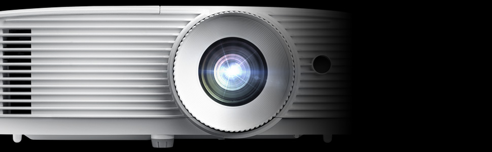 closeup image of optoma eh412 video projector