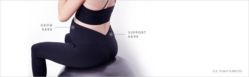 26f4c9060cb49 Ingrid   Isabel Women s Maternity Active Capri Pant at Amazon ...
