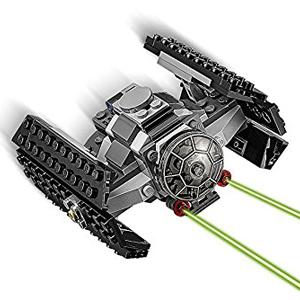 Lego Star Wars Death Star Coloca el TIE Advanced de Lord Vader en posición