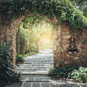 Relaxdays Fuente Jardín Pared con Grifo de Estilo Vintage, Aluminio Fundido, Bronce, 66 x 37 x 19, 5 cm: Amazon.es: Jardín