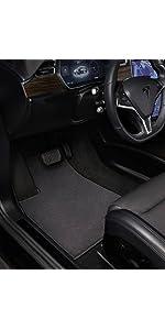 Polypropylene Fiber Charcoal GG Bailey D3377A-F1A-CC-CHAR Front Set Custom Fit Car Mat for Select Audi A8 Quattro Models
