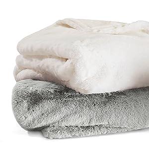 throws;fur throw;plush blanket;luxury throw;luxury blanket;weighted blanket;weighted throw