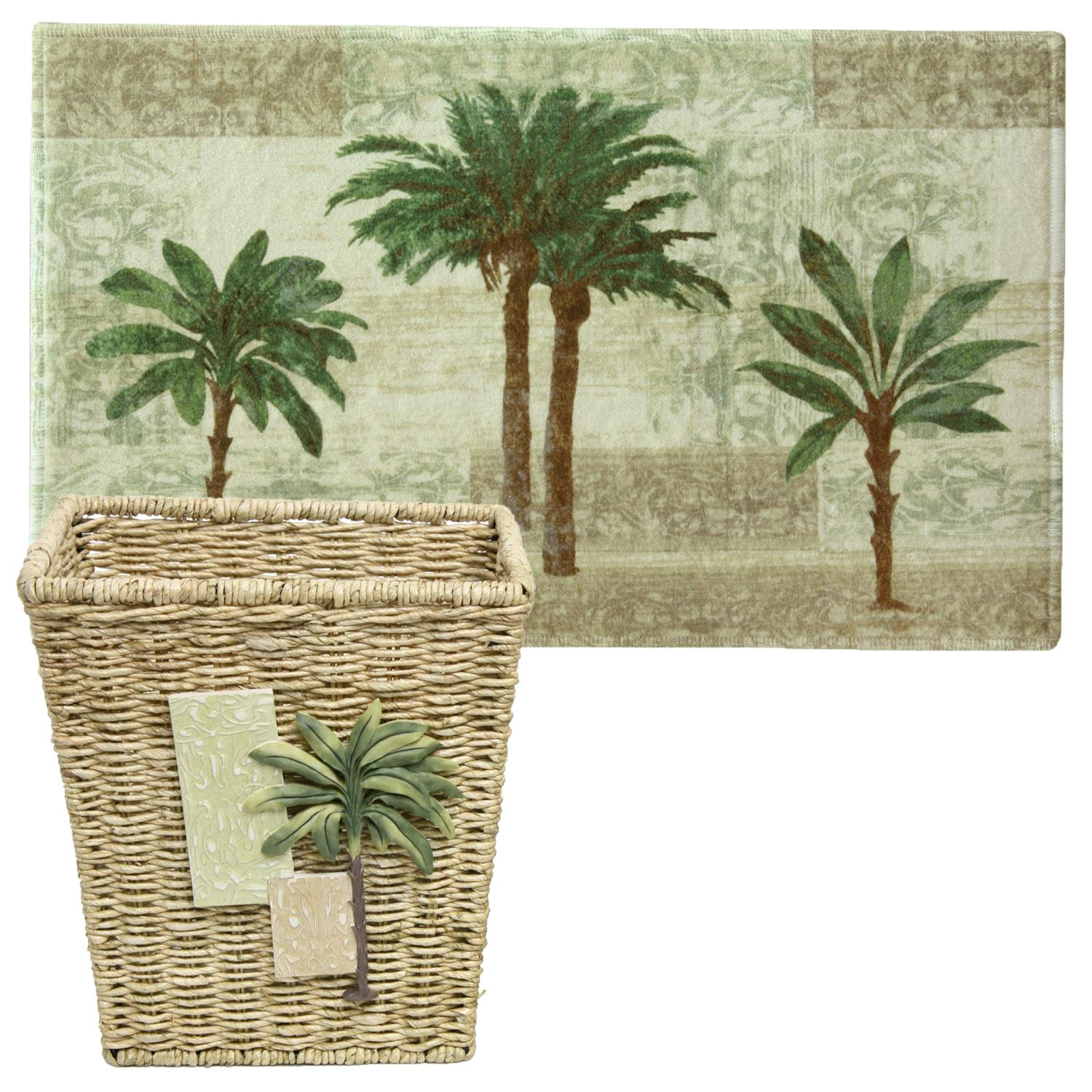 "Amazon.com: Bacova Guild Citrus Palm, 20"" X 33"" Bath Rug"