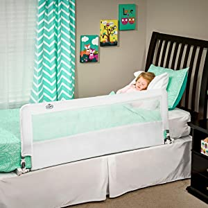 regalo hideaway bed rail extra long
