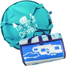 handy mat; life is better at the campsite; campsite accessories; camping gear
