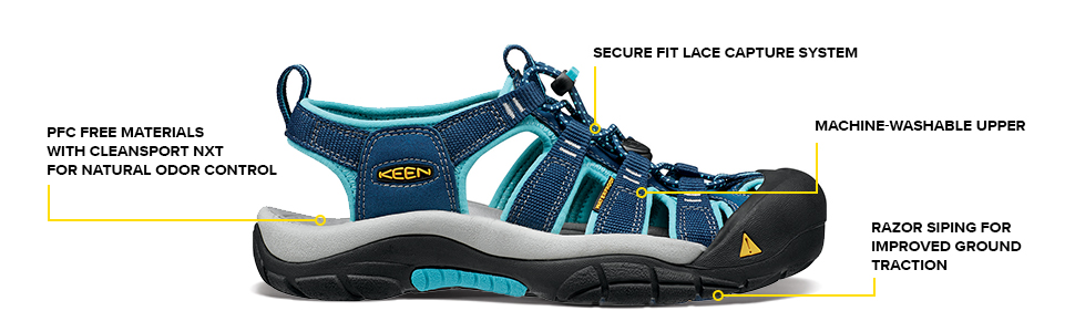 KEEN water sandal, water shoe, sandal, travel shoe, closed toe sandal, adventure sandal