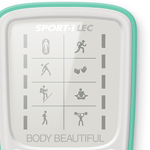 Body beautiful interface électrostimulateur sport elec