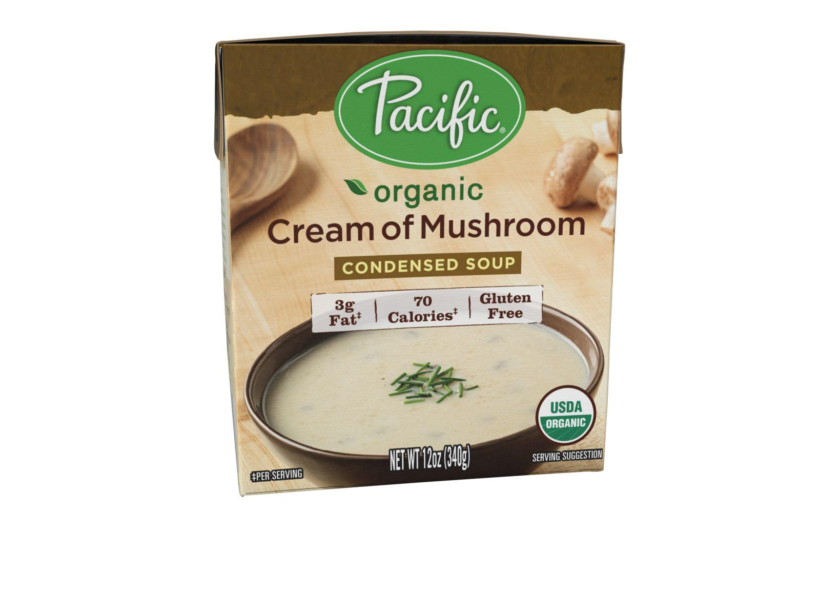Amazon.com : Pacific Foods Organic Cream of Mushroom Condensed Soup ...