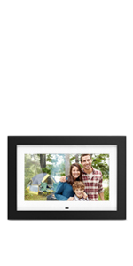 Digital Photo Frame with Matte - 10 inch