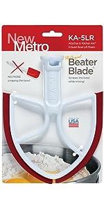 New Metro Design Ka 6l Beater Blade For Kitchenaid 6 Quart