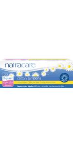 Natracare Organic Super plus tampon 20 count