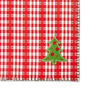 christmas buffalo plaid decoration room fall runners style modern ornaments home red tablecloth