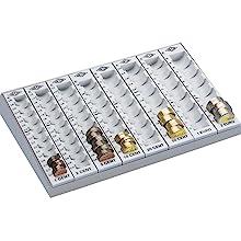 lichtgrau f/ürGeldkassette Europa /& Z/ählbrett 160958049, 26,2 x 16 x 3 cm Wedo 161658000 Ersatz M/ünzeinsatz