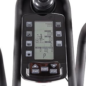 lcd fitness monitor programmable custom