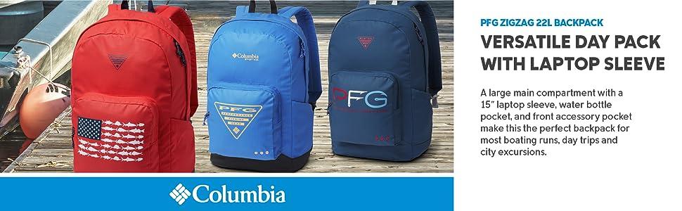 Columbia PFG ZigZag 22L Laptop Backpack