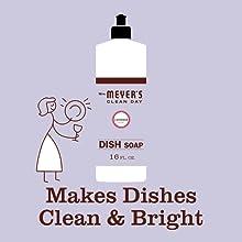 Lavender scent, Mrs. Meyer's Dish Soap