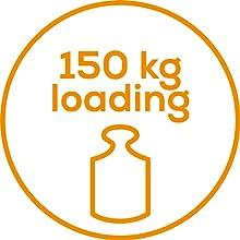 máximo peso de 150Kg