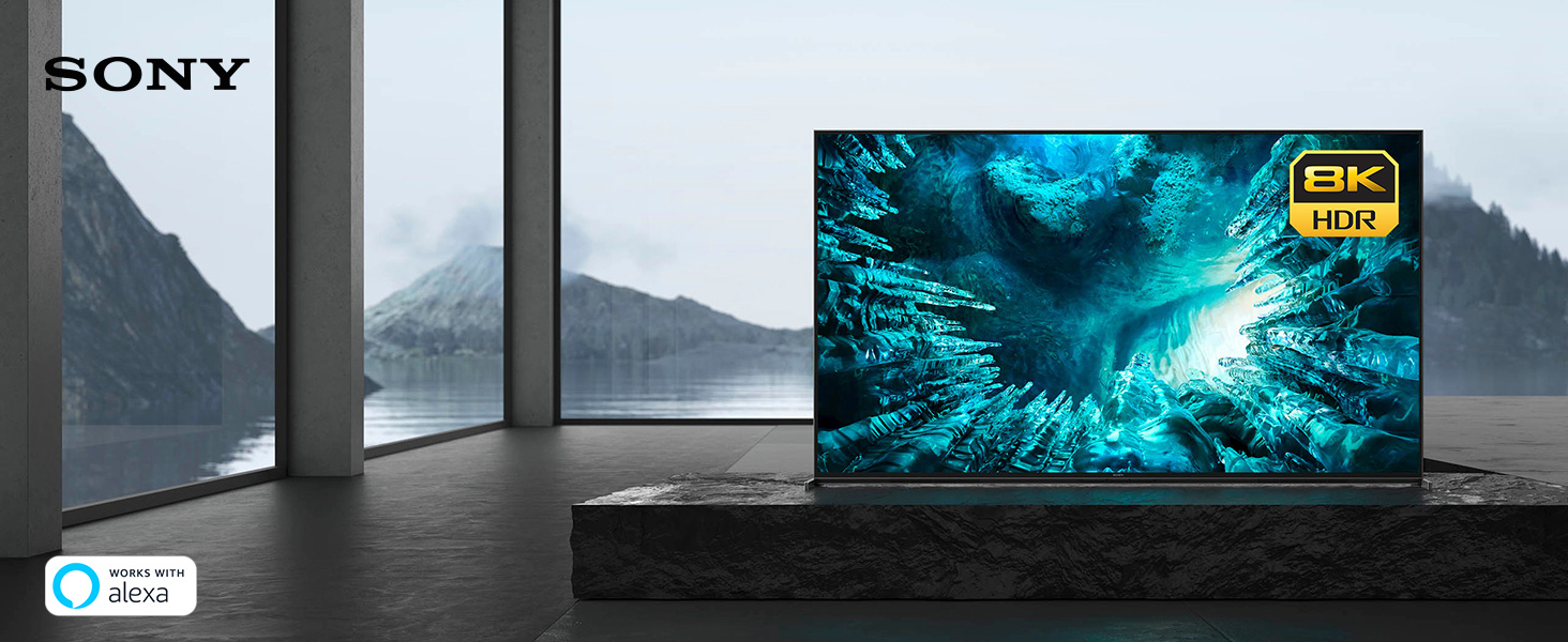 Enter new worlds. 8K is here.