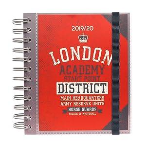 Agenda escolar 2019/2020 día página M London