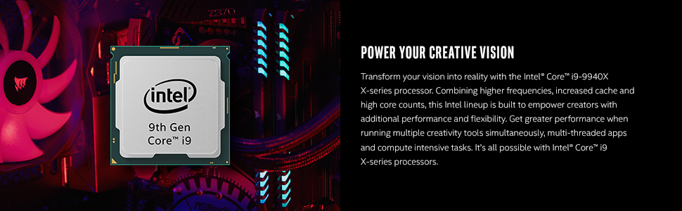 Intel Core i9 9940X processor