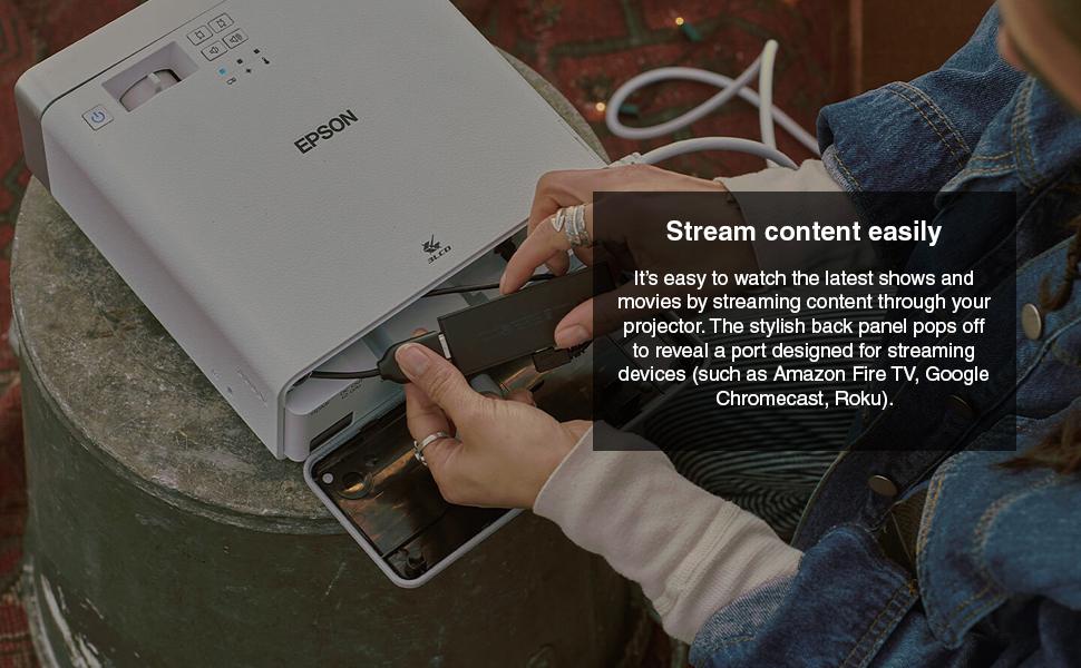 Stream content easily
