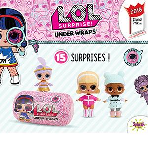 lol, lol surprise, lol surprise under wraps, poupee, mini poupee, collection jouet fille, eye spy