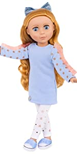 Poppy 14-inch doll Glitter Girls Battat posable doll clothes outfits accessories wellie wishers