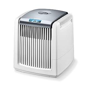 Beurer LW 220- Purificador y humidificador de aire , 7 vatios, adecuado para habitaciones de hasta 40 m², 18 W, Blanco: Amazon.es: Hogar