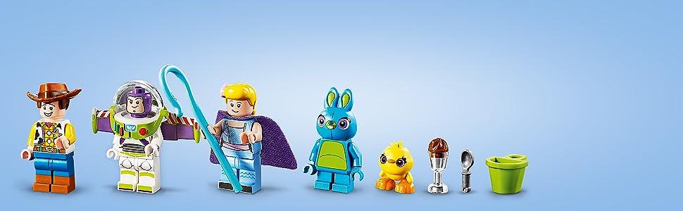 LEGO Toy Story Porzellinchen Minifigur Figur Buzz Woody Bo Peep Gabby 10768