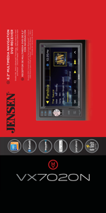 Amazon.com: Jensen VX7020 6.2 inch LCD Multimedia Touch Screen ... on