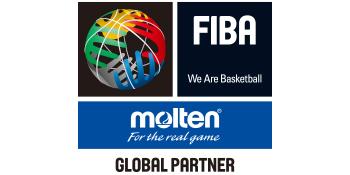 Molten and FIBA logos