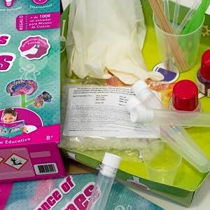 stem, perfumes, ciencia dos perfumes, kit, juguete, niñas, juguete de perfumes, stem