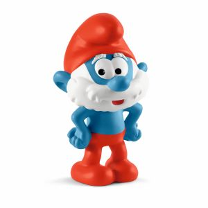 papa smurf, the smurfs, Schleich, smurf toys, smurf figurines, smurf DVD, smurf birthday decorations