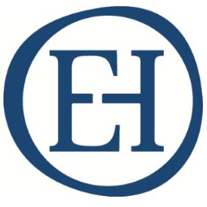 EH logo stamp