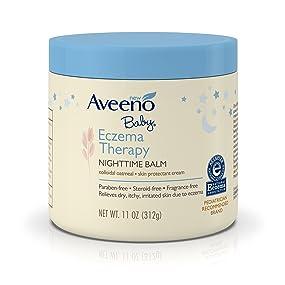 AVEENO Eczema Therapy Nighttime Balm, 11 OZ.