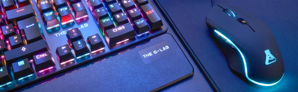 The G Lab Kult Promethium Laser Gaming High Computer Zubehör